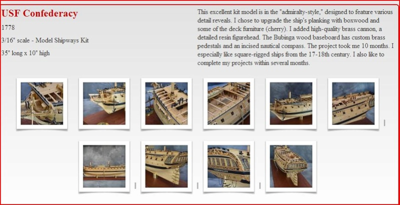 La Confederacy de 1772 au 1/64 par Model Shipways - Page 2 Confed10