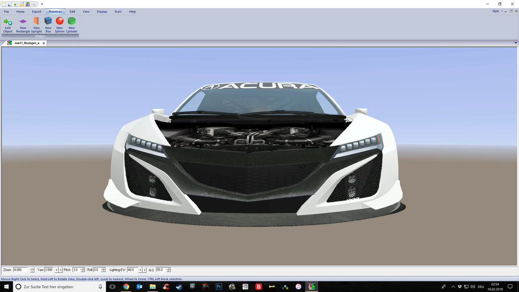 (DELETED) Acura NSX GT3 Screen13