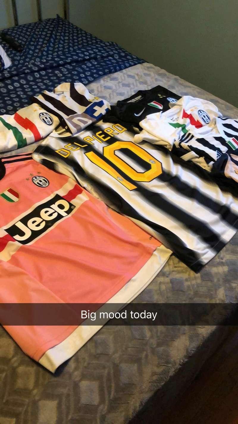 Juventus Kit Thread Jersey10