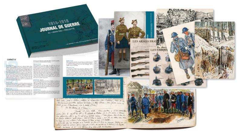 1914-1918 Journal de guerre du chasseur à pied PAILLETTE 1914a111