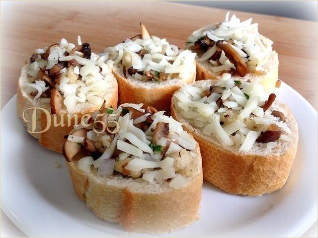 Bouchées aux champignons caramélisés 4hi6ht10