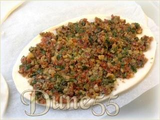 Tatin de tomates, avec tapenade d'olives vertes et tomates séchées Ejwlnz10