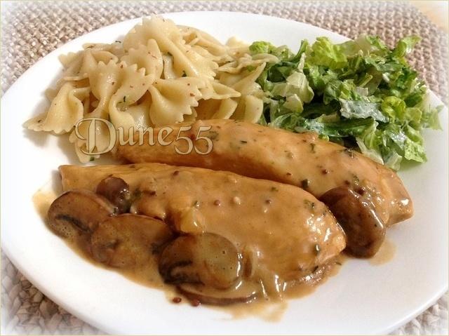 Poulet sauce crémeuse aux champignons Oqikfc10