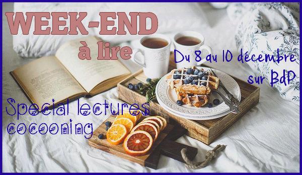Challenge : Week-end à lire Spécial lectures cocooning ! Weeken11