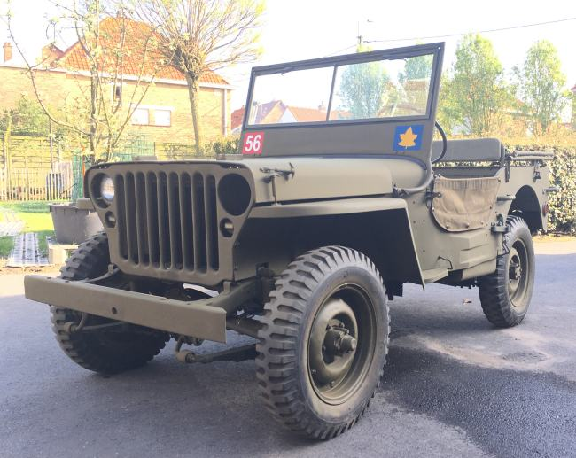 jeep a restaurer Mb210