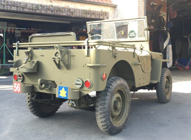 jeep a restaurer Mb310