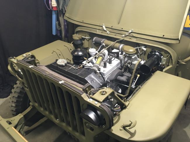 jeep a restaurer Mb410
