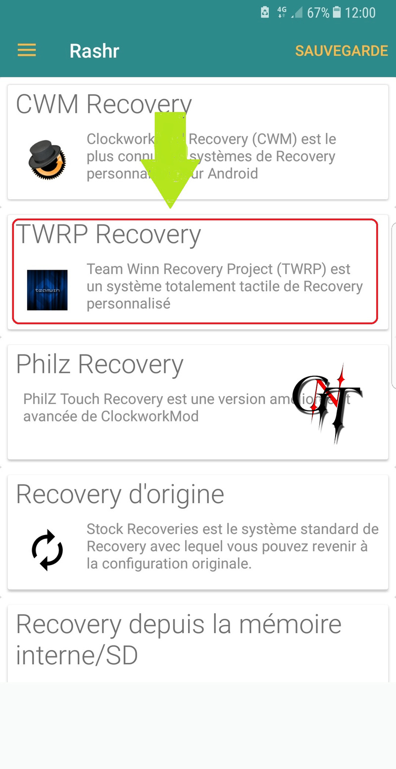 RECOVERY TWRP POUR NOTE 8 SM-N950F/D 1gnt10