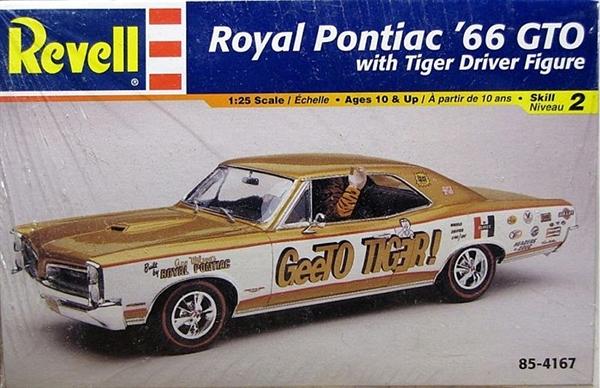 Pontiac GTO 66 Revell Rmx-4110