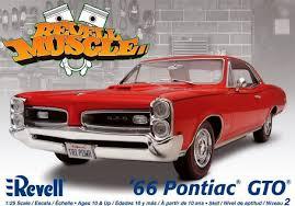Pontiac GTO 66 Revell Tylych10