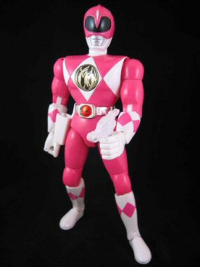 CERCO Mighty Morphin Pink Ranger 20 cm L661a10