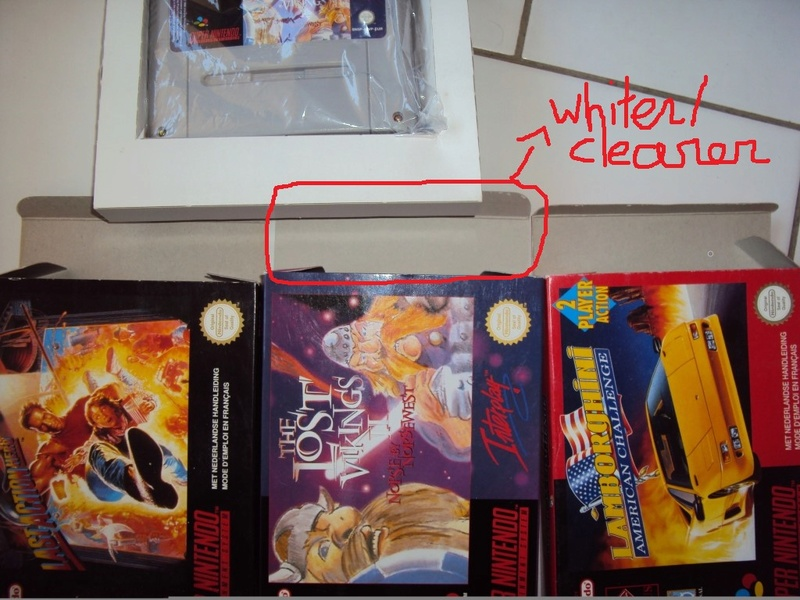Boîte The Lost Vikings 2 Snes vraie ou fausse? Whiter10