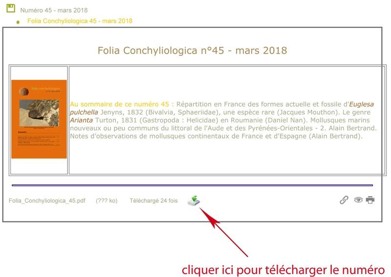 Le nouveau Folia Conchyliologica est en ligne - Page 3 Folia_10