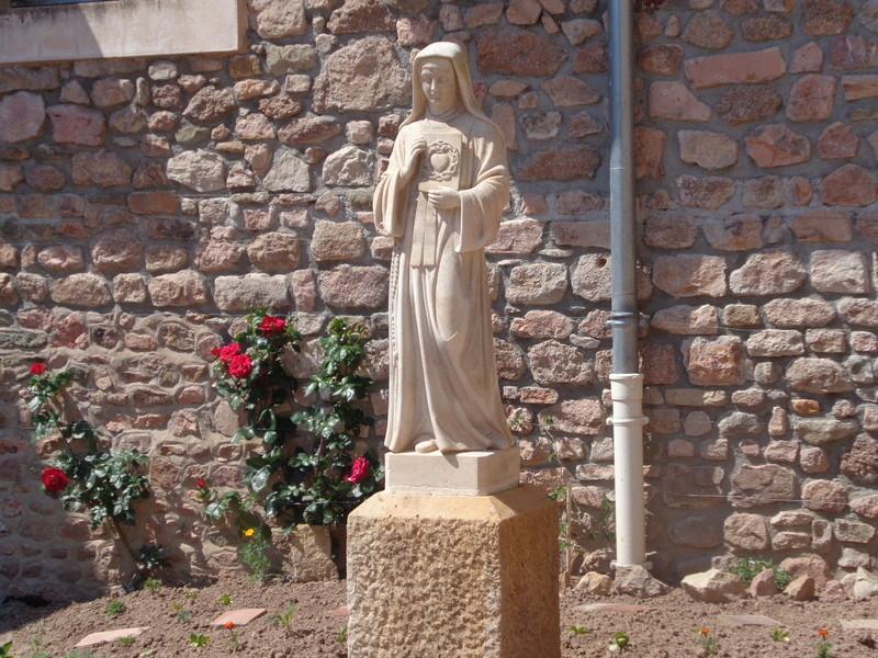 Le Sacré-Coeur de Notre Seigneur Jésus-Christ révélé à Ste Marguerite-Marie Alacoque.  Dsc01410