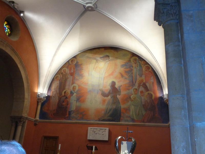 Le Sacré-Coeur de Notre Seigneur Jésus-Christ révélé à Ste Marguerite-Marie Alacoque.  Dsc01713