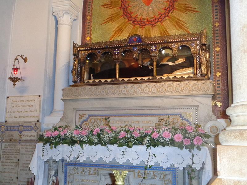 Le Sacré-Coeur de Notre Seigneur Jésus-Christ révélé à Ste Marguerite-Marie Alacoque.  Dsc01714