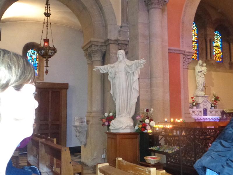 Le Sacré-Coeur de Notre Seigneur Jésus-Christ révélé à Ste Marguerite-Marie Alacoque.  Dsc01715
