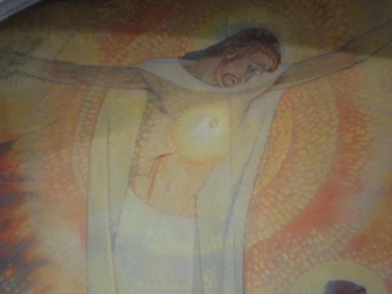 Le Sacré-Coeur de Notre Seigneur Jésus-Christ révélé à Ste Marguerite-Marie Alacoque.  Dsc01716