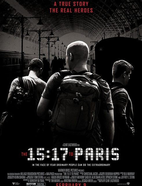 فيلم The 15:17 to Paris 2018