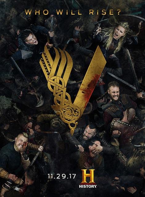 مسلسل Vikings الموسم الخامس كامل رابط واحد 2018