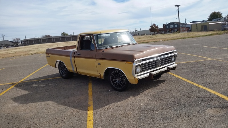 The F250 to F100 turbo project - it's alive. - Page 3 20171114