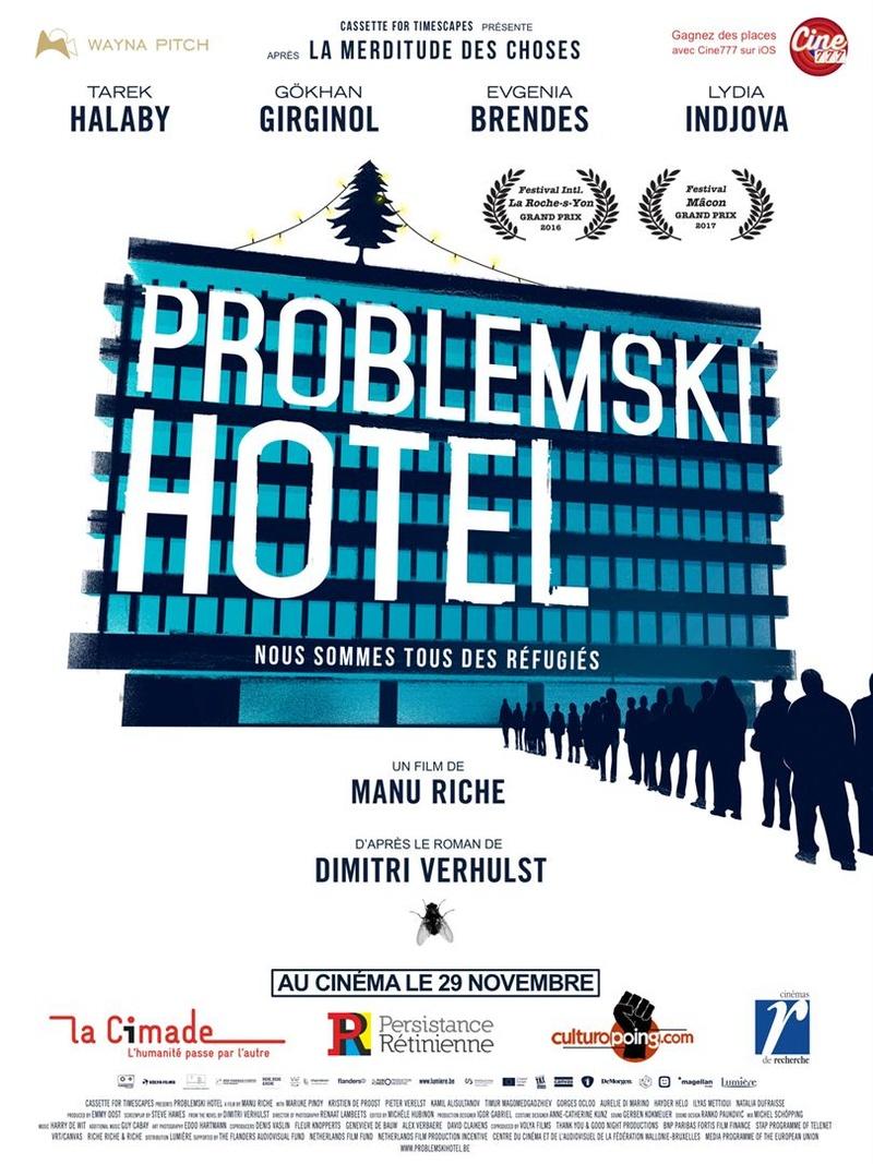 Problemski hotel au ciné club d'Enjeux le 13 mars Affich10