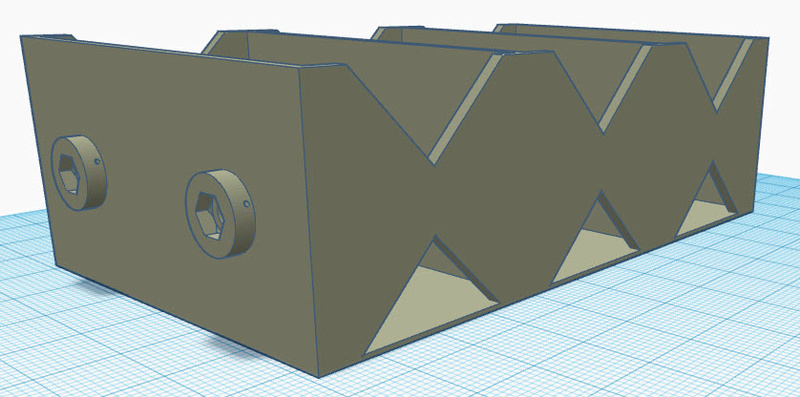 Cox Starter Battery Box Printable Templates Batt_b10