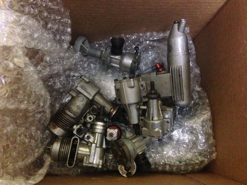 $50 box of engines arrived Img_5911