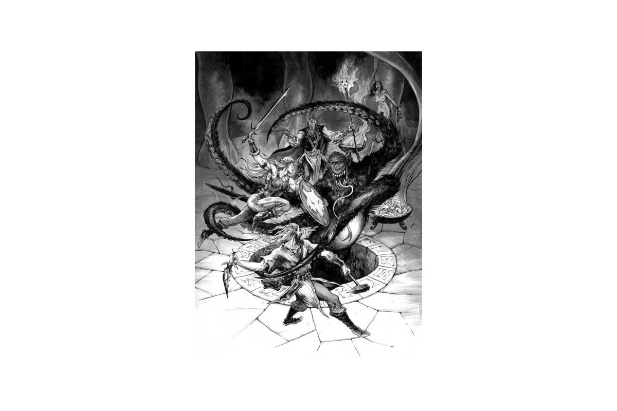 Barbarians of Lemuria - La Dark Fantasy selon Krongar Barbar11