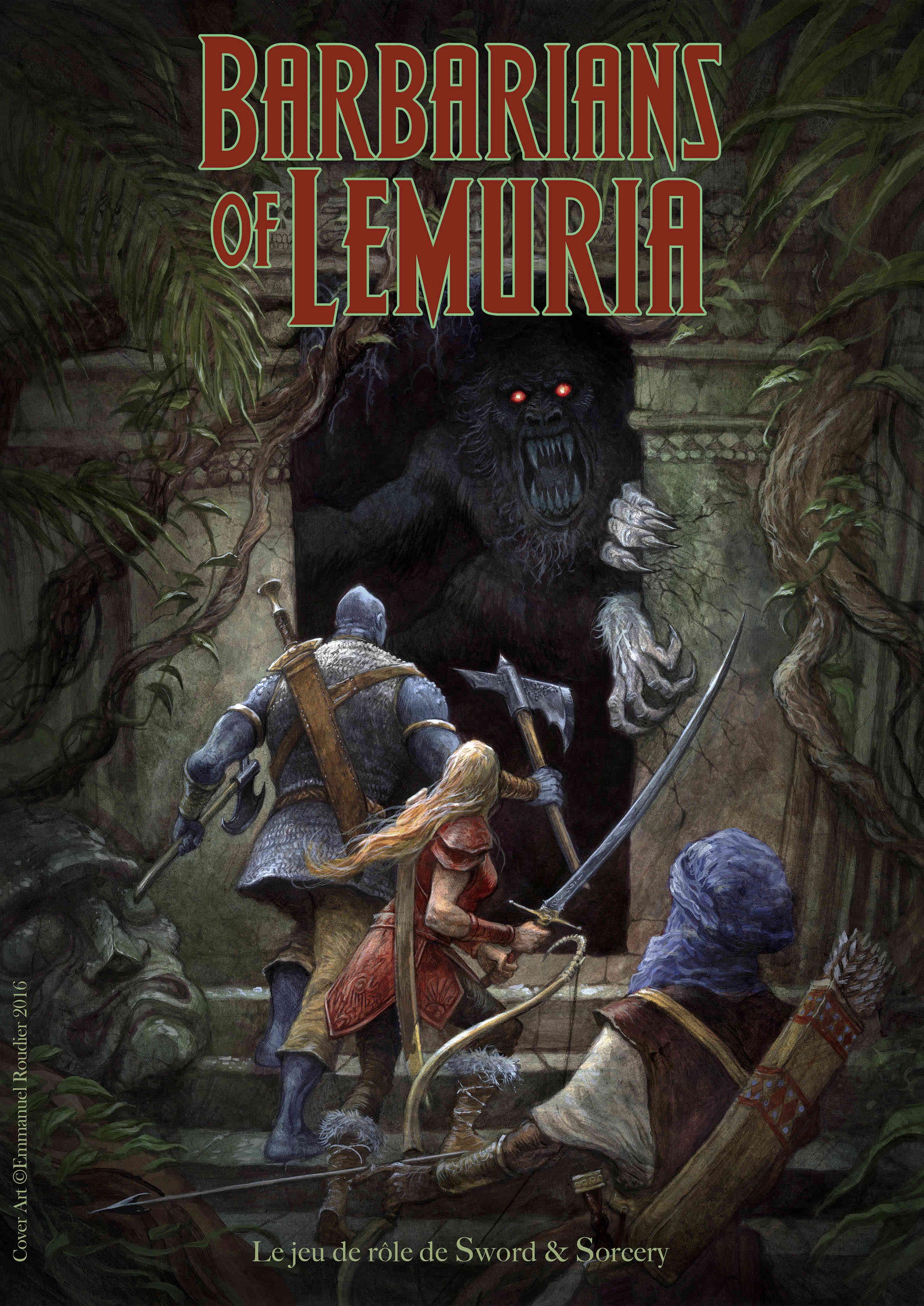 Barbarians of Lemuria - La Dark Fantasy selon Krongar Barbar12