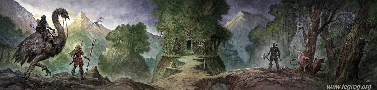 Barbarians of Lemuria - La Dark Fantasy selon Krongar Ob_9d310