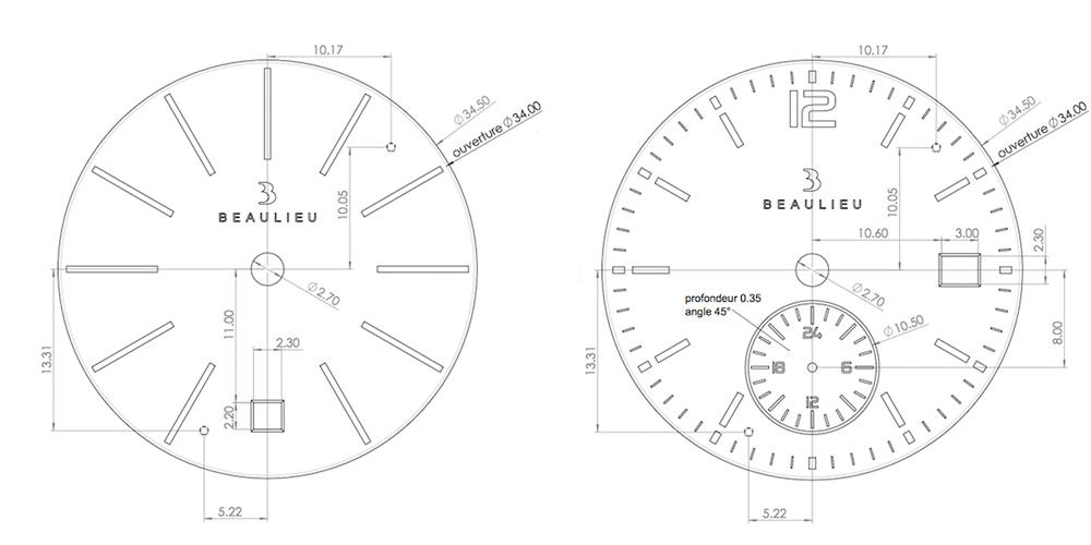 Beaulieu Type S : design, quelques plans, et construction des protos à venir. Beacad10
