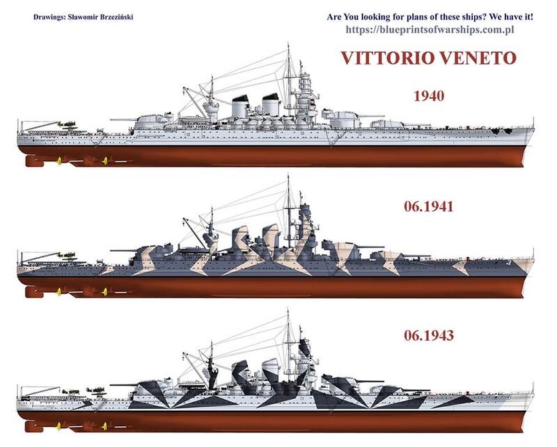 Vittorio Vénéto 1/700 trumpeter Maj le 08/06/2018 2a038d10