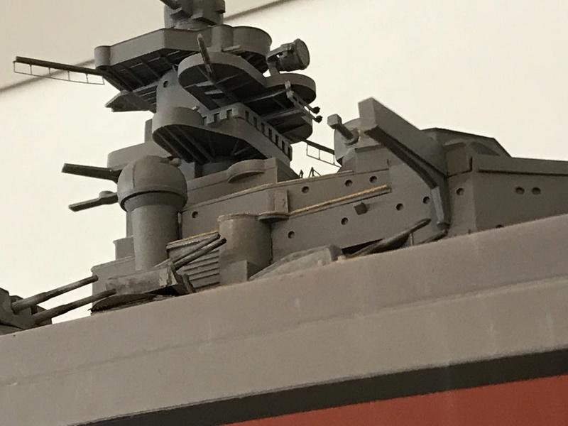 Bismarck 1/350 tamiya UP le 30/01/2018 montage terminé  31476310