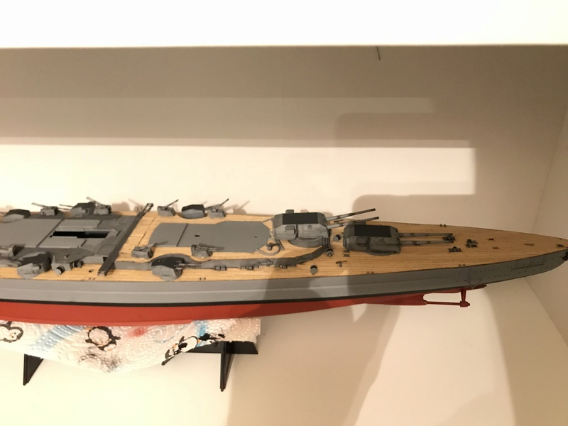 Bismarck 1/350 tamiya UP le 30/01/2018 montage terminé  32bdf310