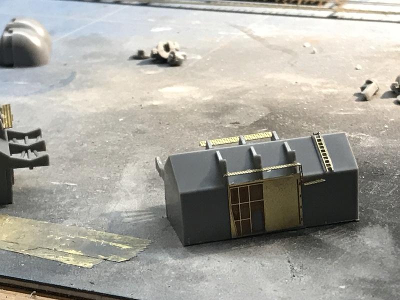 Bismarck 1/350 tamiya UP le 30/01/2018 montage terminé  39fbd210