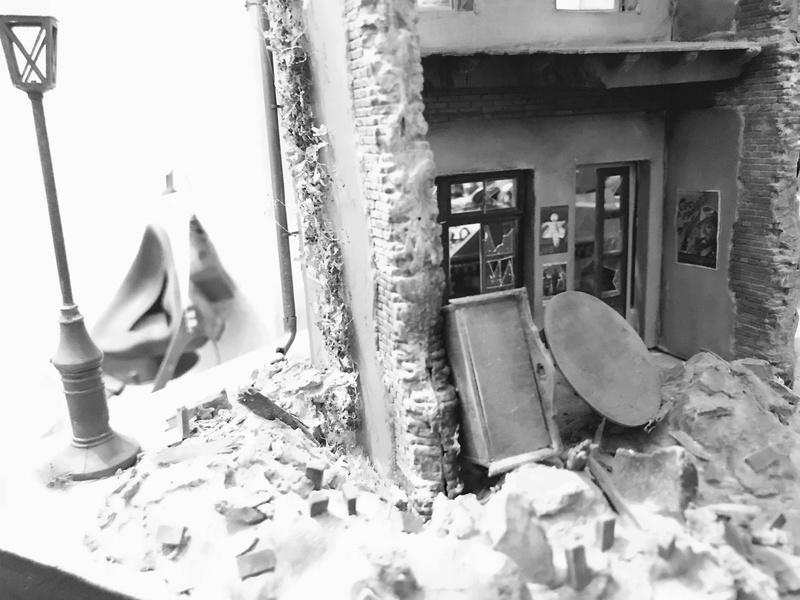 Diorama 1/35 Normandie 1945 sherman 3eeceb10