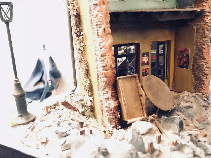 Diorama 1/35 Normandie 1945 sherman 47d56910
