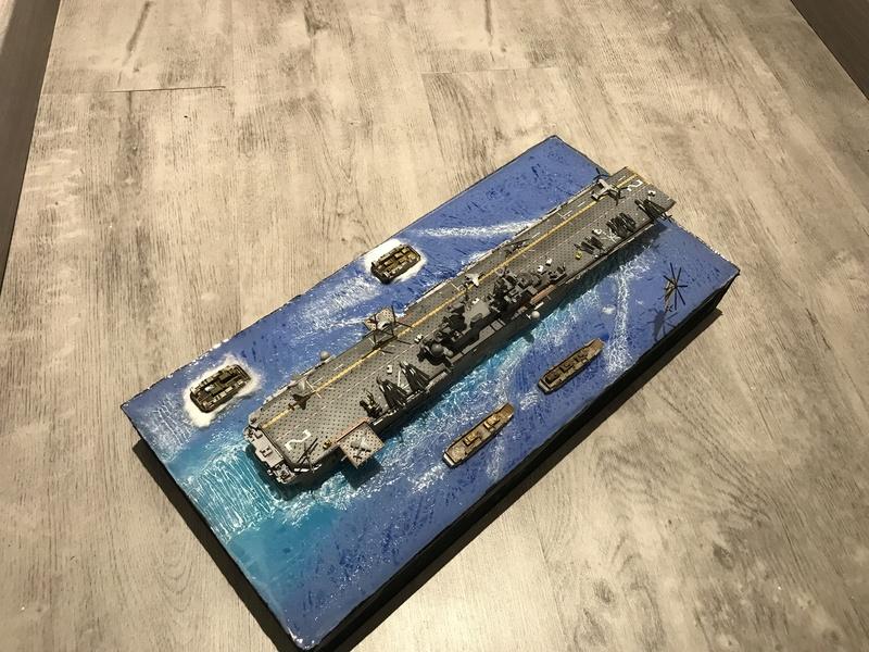 USS Essex Hobby boss 1/700 4834b910