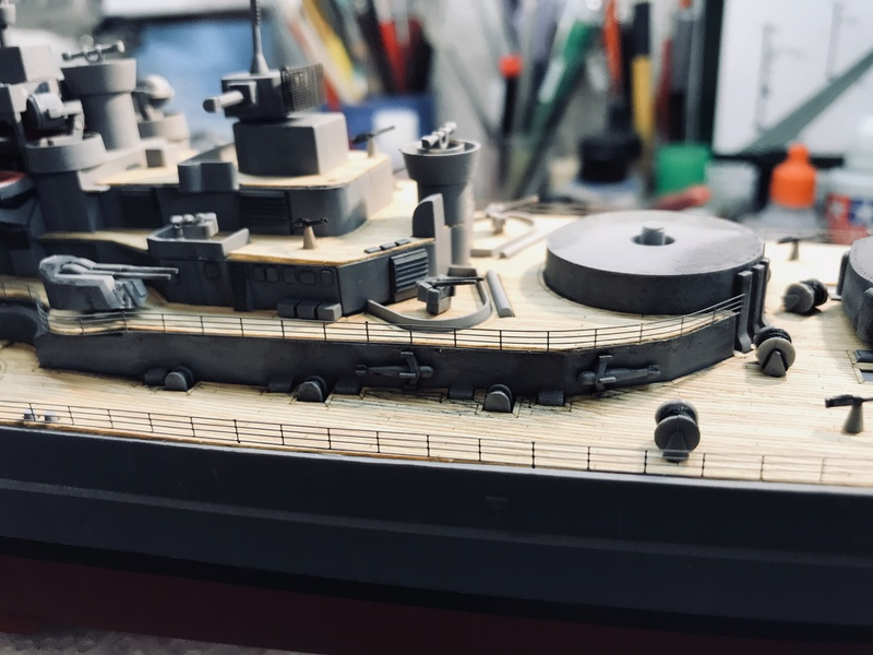 Bismarck 1/350 tamiya UP le 30/01/2018 montage terminé  - Page 2 4e9a0010