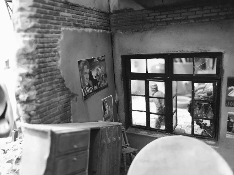Diorama 1/35 Normandie 1945 sherman 5419b510