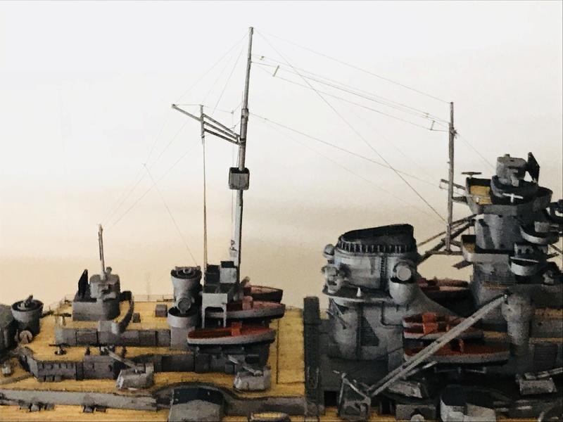 Bismarck 1/350 tamiya 729ec410