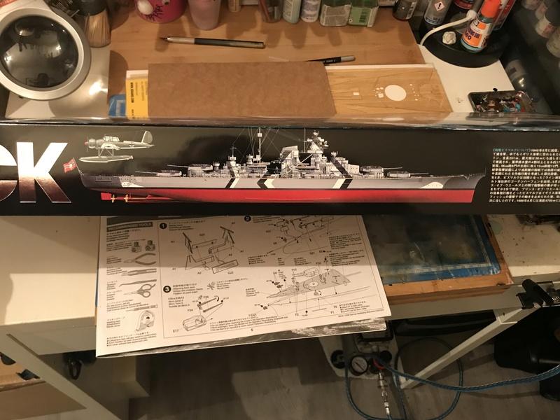 Bismarck 1/350 tamiya UP le 30/01/2018 montage terminé  77eada10