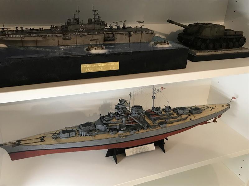 Bismarck 1/350 tamiya 7fbb8f10