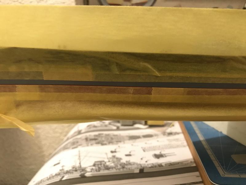 Bismarck 1/350 tamiya UP le 30/01/2018 montage terminé  8c284610