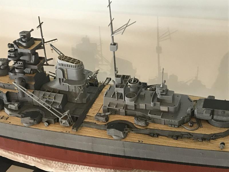 Bismarck 1/350 tamiya UP le 30/01/2018 montage terminé  91f04810