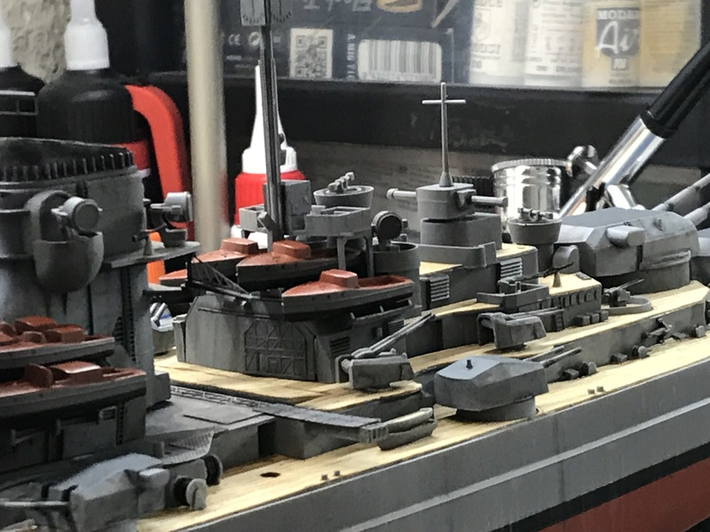 Bismarck 1/350 tamiya UP le 30/01/2018 montage terminé  - Page 2 9f3c0d10