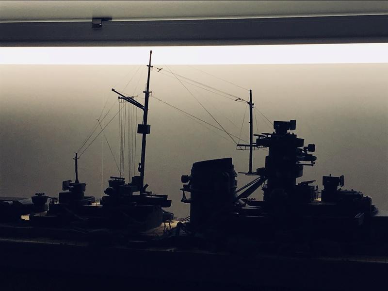 Bismarck 1/350 tamiya D6d18110