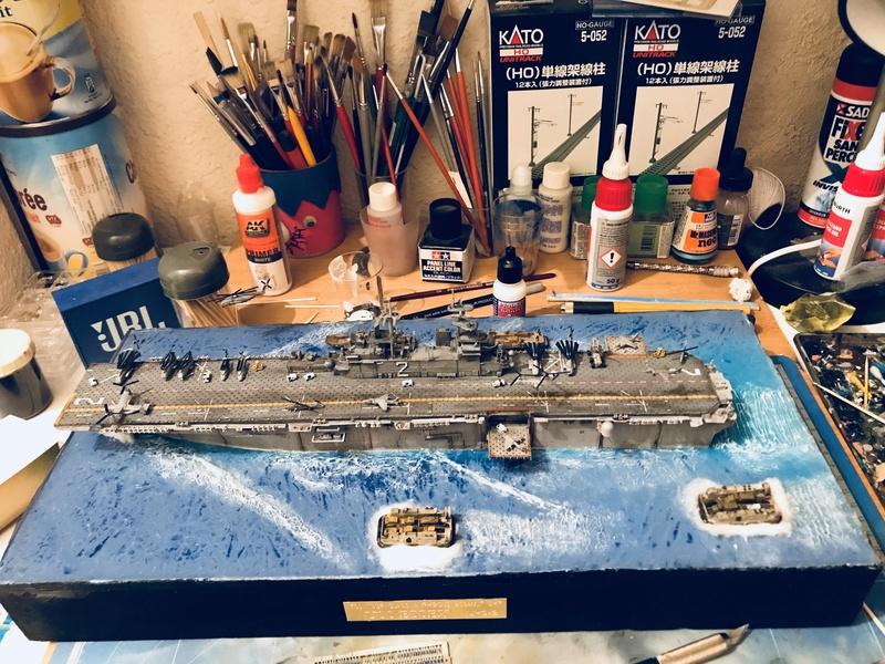 USS Essex Hobby boss 1/700 Def47510