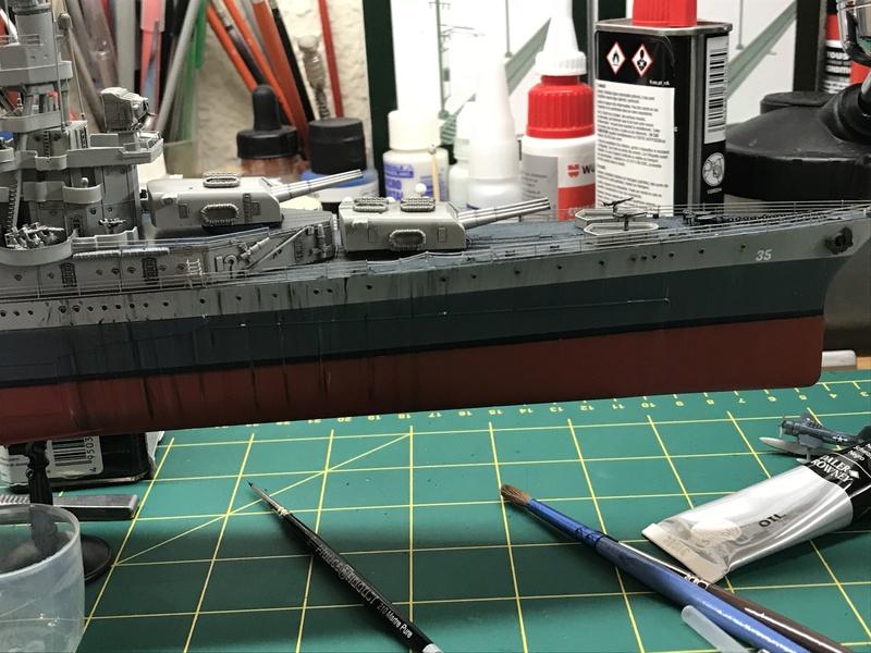 USS Indianapolis academy premium édition 1/350 Termine le29 /03/18 - Page 5 Df6d3310